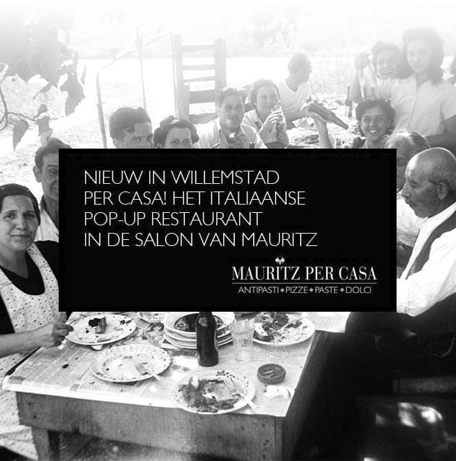 header per casa Italiaanse mensen aan tafel