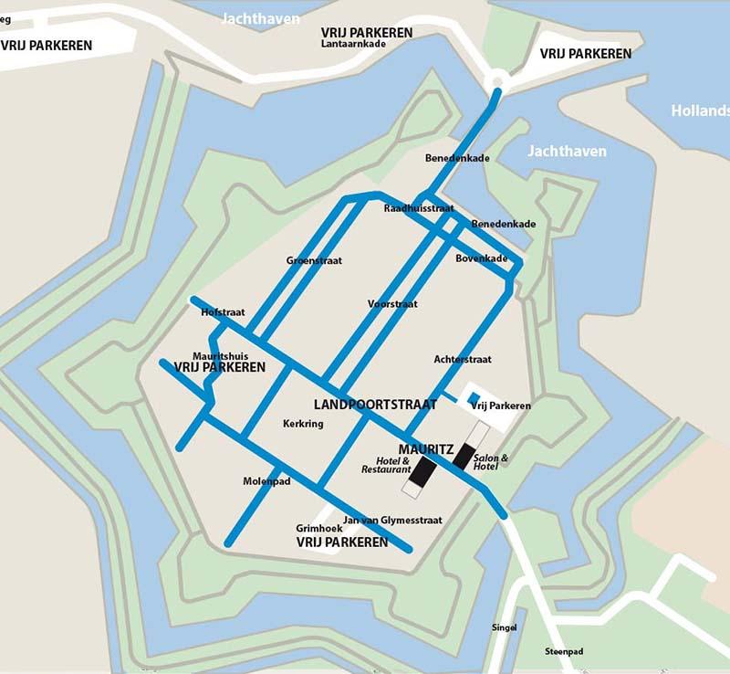 Parkeren in Willemstad